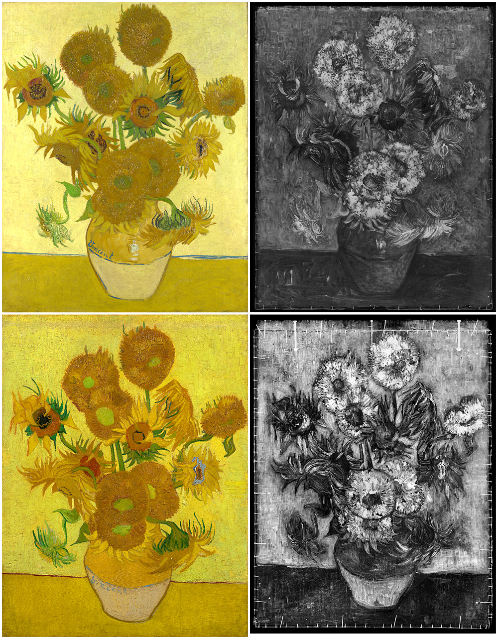 """Sunflowers"""" Van Gogh wither – Auroom"""